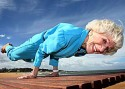 Yoga instructor still going strong at 83