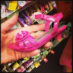 Baby high heels -- WTF?! Photo credit: Vanessa Bertozzi
