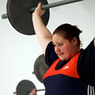 Cheryl Haworth, US women's weightlifting champion