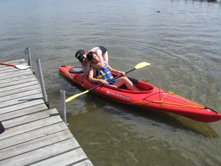 In fact, apparently I invented a combination of grappling and kayaking.