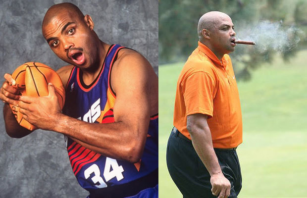 Exhibit A: Former NBA player Charles Barkley.