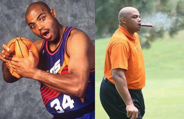 Exhibit A: Former NBA player Charles Barkley.
